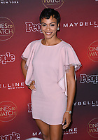 Carly Hughes at the 2017 People's &quot;Ones To Watch&quot; event at NeueHouse Hollywood, Los Angeles, USA 04 Oct. 2017<br /> Picture: Paul Smith/Featureflash/SilverHub 0208 004 5359 sales@silverhubmedia.com