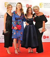 Ria Zmitrowicz, Molly Windsor, Liv Hill and guest at the Virgin TV British Academy (BAFTA) Television Awards 2018, Royal Festival Hall, Belvedere Road, London, England, UK, on Sunday 13 May 2018.<br /> CAP/CAN<br /> &copy;CAN/Capital Pictures