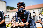 Egan Bernal (COL) Team Ineos Grenadiers at sign on before the start of Stage 4 of Tour de France 2020, running 160.5km from Sisteron to Orcieres-Merlette, France. 1st September 2020.<br /> Picture: ASO/Pauline Ballet | Cyclefile<br /> All photos usage must carry mandatory copyright credit (© Cyclefile | ASO/Pauline Ballet)