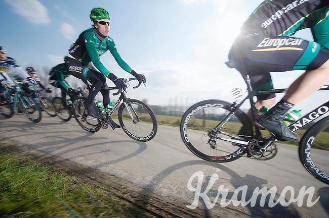 3 Days of De Panne.stage 1: Middelkerke - Zottegem..Björn Thurau (DEU)