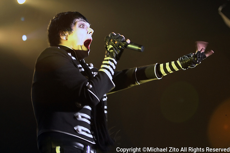 My Chemical Romance performs at the Forum