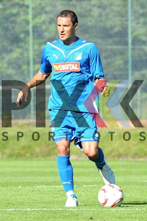 Leogang &Ouml;sterreich 31.07.2010, 1.Fu&szlig;ball Bundesliga Testspiel TSG 1899 Hoffenheim - Greuther F&uuml;rth, Hoffenheims Sejad Salihovic<br /> <br /> Foto &copy; Rhein-Neckar-Picture *** Foto ist honorarpflichtig! *** Auf Anfrage in h&ouml;herer Qualit&auml;t/Aufl&ouml;sung. Belegexemplar erbeten. Ver&ouml;ffentlichung ausschliesslich f&uuml;r journalistisch-publizistische Zwecke.