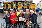 Launching the annual Bill Kirby Memorial Walk on St Stephens Day, Saturday 26th of December at 11.30am,in aid of The Kerry Hospice. Asssembly point outside the Brogue Inn at 11am, depart at 11.30am, organised by Michael Fox O'Connor.l-r  Margaret Humphries, Sis O'Connor, Frank Greaney from Listowel, Fiona Cotter, Kirby's Brogue Inn, Dan Galvin from The Kerry Hospice, Michael Gaffney, Michael Fox O'Connor and Suzanne Ennis, Tralee Credit Union