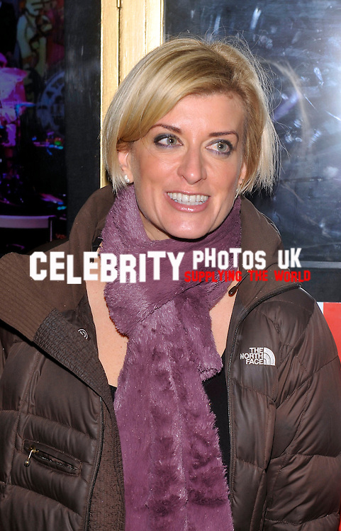 Caroline Feraday  attends the  Let It Be press night  at Savoy Theatre Strand London 13 February 2013 Picture By: Brian Jordan / Retna Pictures.. ..-..