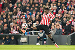 Inaki Williams Arthuer of Athletic Club in action during their Copa del Rey Round of 16 first leg match between Athletic Club and FC Barcelona at San Mames Stadium on 05 January 2017 in Bilbao, Spain. Photo by Victor Fraile / Power Sport Images