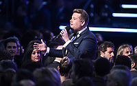 NEW YORK - JANUARY 28: Host James Corden appears on the 60th Annual Grammy Awards at Madison Square Garden on January 28, 2018 in New York City. (Photo by Frank Micelotta/PictureGroup)