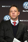05 December 2013: MLS Executive Vice President, Competition, Labor and Player Relations Todd Durbin. Major League Soccer held a press conference announcing Mike Magee, of the Chicago Fire as the winner of the 2013 MLS Most Valuable Player award at the Three Points Club in Kansas City, Missouri.