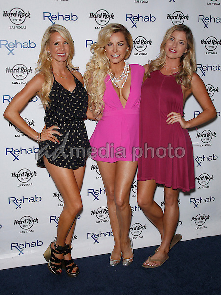 11 July 2015 - Las Vegas, Nevada - Amanda Vanderpool, Crystal Hefner, Carly Lauren.  Crystal Hefner at REHAB at the Hard Rock Hotel and Casino.  Photo Credit: MJT/AdMedia