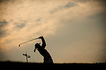 TAOYUAN, TAIWAN - OCTOBER 27:  Alison Walshe tees off on the 16th hole during the day three of the Sunrise LPGA Taiwan Championship at the Sunrise Golf Course on October 27, 2012 in Taoyuan, Taiwan.  Photo by Victor Fraile / The Power of Sport Images