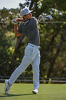 Thorbjorn Olesen (DEN) watches his tee shot on 2 during day 1 of the WGC Dell Match Play, at the Austin Country Club, Austin, Texas, USA. 3/27/2019.<br /> Picture: Golffile | Ken Murray<br /> <br /> <br /> All photo usage must carry mandatory copyright credit (&copy; Golffile | Ken Murray)