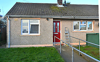 COPY BY TOM BEDFORD<br /> Pictured: The house of Betty Guy was living in the Johnston area of Haverfordwest, Wales, UK <br /> Re: A mother and son will go on trial at Swansea crown court charged with murdering 84 year old Betty Guy.<br /> Mrs Guy died on November 7, 2011, and her body was cremated soon afterwards.<br /> Her daughter, Penelope John, aged 50, and her grandson, Barry Rogers, 32, have previously denied her murder and an alternative charge of manslaughter.<br /> The court has previously heard that the prosecution case involved 75 hours of recorded statements made by the defendants.