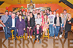21st Birthday Party: Tom Joy, Ballybunion celebrating his 21st birthday with family & friends at the Railway Bar, Ballybunion on Friday night last.
