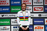 Rozemarijn Ammerlaan (NED) wins the Women's Junior Individual Time Trial of the 2018 UCI Road World Championships running 20km around Innsbruck, Innsbruck-Tirol, Austria 2018. 24th September 2018.<br /> Picture: Innsbruck-Tirol 2018/BettiniPhoto | Cyclefile<br /> <br /> <br /> All photos usage must carry mandatory copyright credit (&copy; Cyclefile | BettiniPhoto/Innsbruck-Tirol 2018)