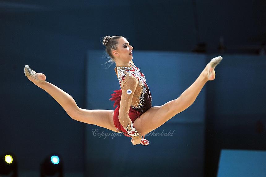 August 29, 2013 - Kiev, Ukraine - MELITINA STANIOUTA of Belarus performs at 2013 World Championships.