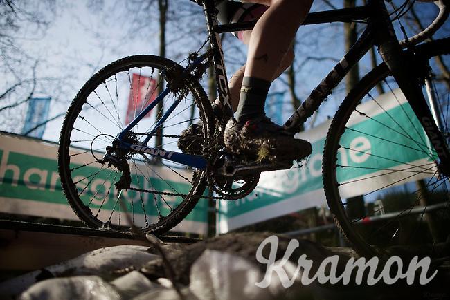 muddy brakes<br /> <br /> Superprestige Francorchamps 2014