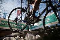muddy brakes<br /> <br /> Superprestige Francorchamps 2014
