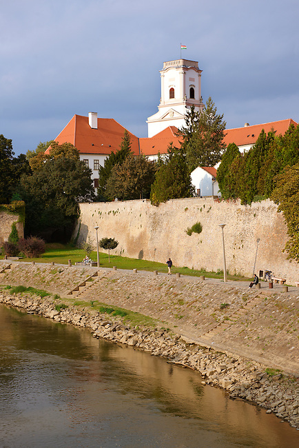 Bishop's Castle and Episcopal Palace, Chapter Hill  ( Püspökvár ) -  Gyor ( Gy?r ) Hungary
