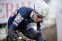 Lucie Chainel-Lefevre (FRA)<br /> <br /> Elite Women's Race<br /> <br /> 2015 UCI World Championships Cyclocross <br /> Tabor, Czech Republic