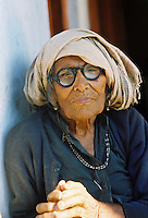 An old Indian woman in a Himalayan foothill village asked me to take her photograph during my first trip to Northern India in 1997.
