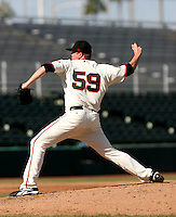 Kevin Pucetas / Scottsdale Scorpions 2008 Arizona Fall League..Photo by:  Bill Mitchell/Four Seam Images