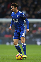Ben Chilwell of Leicester City during Tottenham Hotspur vs Leicester City, Premier League Football at Wembley Stadium on 10th February 2019