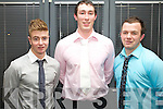 Pictured at the Institute of Technology Tralee Scholarship Awards on Thursday last were from left: Aaron Houlihan Darren Tiernan and Brian Mullins.