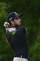 Abraham Ancer (MEX) watches his tee shot on 5 during Rd3 of the 2019 BMW Championship, Medinah Golf Club, Chicago, Illinois, USA. 8/17/2019.<br /> Picture Ken Murray / Golffile.ie<br /> <br /> All photo usage must carry mandatory copyright credit (© Golffile   Ken Murray)
