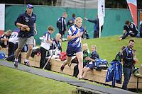 FIERLJEPPEN: WINSUM: Accommodatie St. Japik, 13-08-2016, FK Fierljeppen, Kampioen bij de meisjes Sigrid Bokma, ©foto Martin de Jong