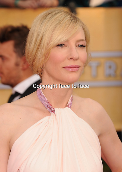 LOS ANGELES, CA- JANUARY 18: Actress Cate Blanchett arrives at the 20th Annual Screen Actors Guild Awards at The Shrine Auditorium on January 18, 2014 in Los Angeles, California.<br /> Credit: Mayer/face to face<br /> - No Rights for USA, Canada and France -