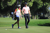 Thomas Pieters (BEL) during the first round of the Turkish Airlines Open played at the Montgomerie Maxx Royal Golf Club, Belek, Turkey. 07/11/2019<br /> Picture: Golffile | Phil INGLIS<br /> <br /> <br /> All photo usage must carry mandatory copyright credit (© Golffile | Phil INGLIS)