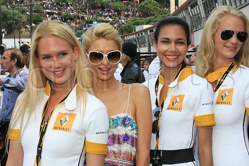 MONACO, Monte Carlo 16.05. 2010 -   Paris Hilton  - formula one, F1, Formula 1,  Motorsport - Formel 1 -
