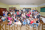 FAMILIES & FRIENDS: Family and friends of newlyborn and baptised Muzi Jajden son of Musa Tshikota and Chloe O'Dowd Marina Appartment, Basin View, Tralee on Saturdau evening as they rocked the night away to mark the christening of Muzi in Na Gaeil GAA Club, Tralee...