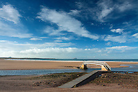 The Bridge to Nowhere, Belhaven Bay, John Muir Country Park, Dunbar, East Lothian