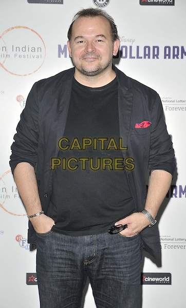 LONDON, ENGLAND - JULY 14: James Barriscale attends the London Indian Film Festival &quot;Million Dollar Arm&quot; UK film premiere, Cineworld Shaftesbury Avenue cinema, Coventry St., on Monday July 14, 2014 in London, England, UK. <br /> CAP/CAN<br /> &copy;Can Nguyen/Capital Pictures