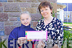 10-year old Wiktoria Wolkanowska at Scoil Eoin Balloonagh who won the Learga?s  Language Learner of the year 2009 pictured with vice-principal, Rena O'Connell