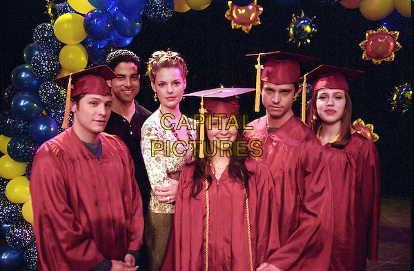 NICK WECHSLER, ADAM RODRIGUEZ, KATHERINE HEIGL, SHIRI APPLEBY, JASON BEHR & MAJANDRA DELFINO.in Roswell.Ref: FB.www.capitalpictures.com.sales@capitalpictures.com.Supplied By Capital Pictures