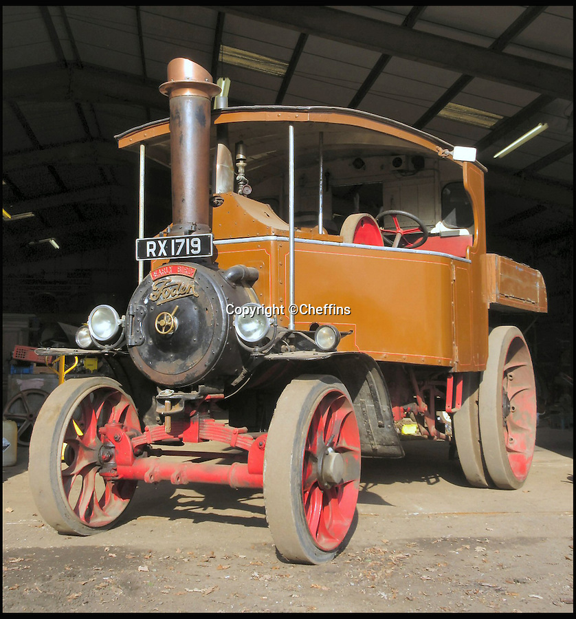 BNPS.co.uk (01202 558833)<br /> Pic: Cheffins/BNPS<br /> <br /> 1928 Foden D Type sold for £140,000.<br /> <br /> A treasure trove of vintage tractors and steam engines collected by two enthusiasts have sold for a massive £1.5 million.<br /> <br /> John Keeley and his wife May amassed the hoard of rusty machines on their farm in Berkshire over a 40 year period.<br /> <br /> Their bizarre fleet included 50 vintage tractors and 15 steam engines and was so vast they were able to stage their own agricultural show that became a famous event.