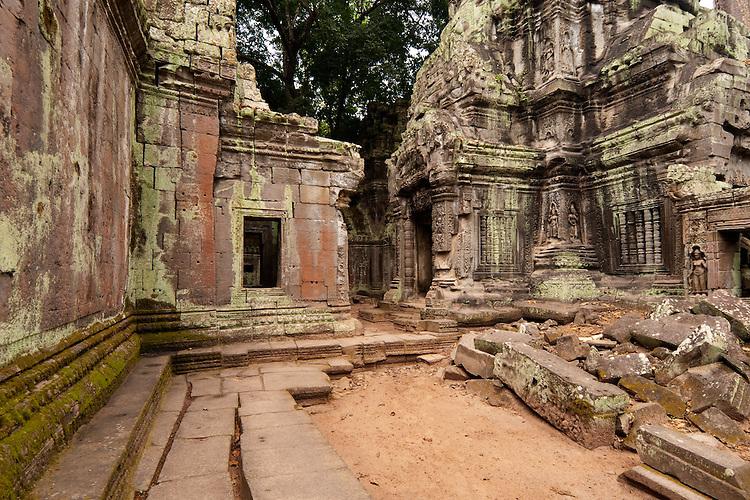 Ta Prohm Temple 02 - Ta Prohm Temple, Angkor, Cambodia