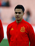 Spain's Sergio Reguilon  during the International Friendly match on 21th March, 2019 in Granada, Spain. (ALTERPHOTOS/Manu R.B.)