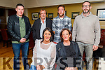 Enjoying the evening in the Brogue Inn on Saturday<br /> Seated: Sarah and Alice O'Sullivan.<br /> Back l to r: Denis, Pat, Michael and Joe O'Sullivan.