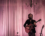 Sam Beam of Iron And Wine performs at Loma Vista Gardens in Big Sur on September 22, 2016.