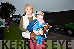 Pictured at the Cahersiveen Races Dog show on Friday evening were Anne Lawlor and Daniel Casey with 'Kiddo' the dog.