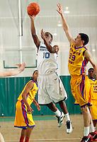 April 10, 2011 - Hampton, VA. USA;  Darrin Hebert participates in the 2011 Elite Youth Basketball League at the Boo Williams Sports Complex. Photo/Andrew Shurtleff