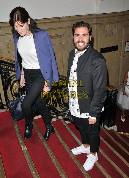 guest &amp; Andrea Faustini attend the National Reality TV Awards 2015, Porchester Hall, Porchester Road, London, England, UK, on Wednesday 30 September 2015. <br /> CAP/CAN<br /> &copy;CAN/Capital Pictures