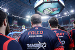 "Baskonia ThunderX3 coach Jesus Perez ""Falco"" during Semi Finals match of 2017 King's Cup at Fernando Buesa Arena in Vitoria, Spain. February 18, 2017. (ALTERPHOTOS/BorjaB.Hojas)"