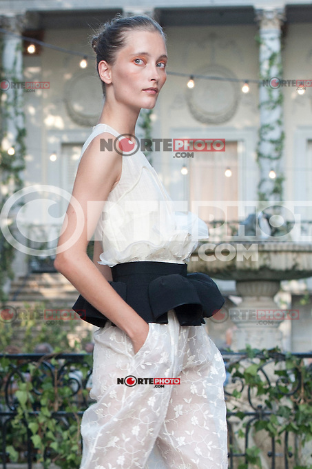 opening Cibeles catwalk with fashion show of Delpozo on Agost 30th 2012...Photo:  (ALTERPHOTOS/Ricky) /NortePhoto.com<br /> <br /> **CREDITO*OBLIGATORIO** <br /> *No*Venta*A*Terceros*<br /> *No*Sale*So*third*<br /> *** No*Se*Permite*Hacer*Archivo**<br /> *No*Sale*So*third*