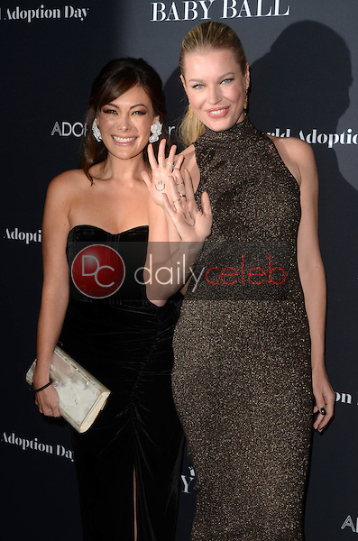 Lindsay Price, Rebecca Romijn<br /> at the Annual Baby Ball in honor of World Adoption Day, NeueHouse, Hollywood, CA 11-11-16<br /> David Edwards/DailyCeleb.com 818-249-4998