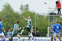 VOETBAL: JOURE: Sportpark Hege Simmerdyk, 26-05-2013, Nacompetitie, SC Joure - Hoogeveen, Eindstand 2-2, Tjisse Kerkstra, ©foto Martin de Jong