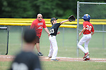 Giants' Jackson Newman vs. Cardinals in Germantown Baseball League action in Germantown, Tenn. on Saturday, May 30, 2015. Cardinals won 6-3.