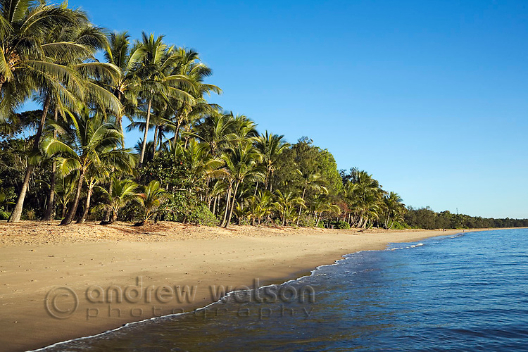 Clifton Beach near Cairns, Queensland, Australia